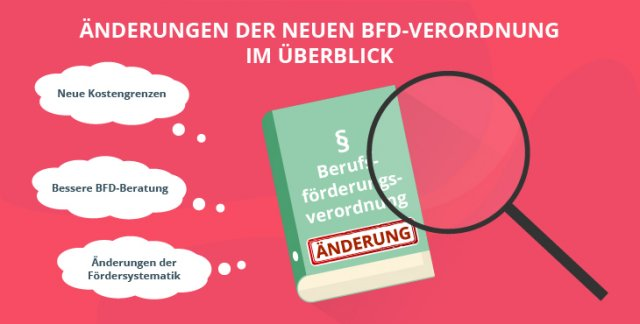 Änderungen der neuen BFD-Verordnung im Überblick