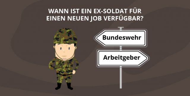 Wann ist ein Ex-Soldat für einen neuen Job verfügbar?