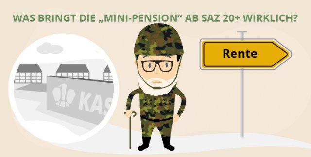 """Was steckt hinter der """"Mini-Pension"""" für SaZ 25?"""