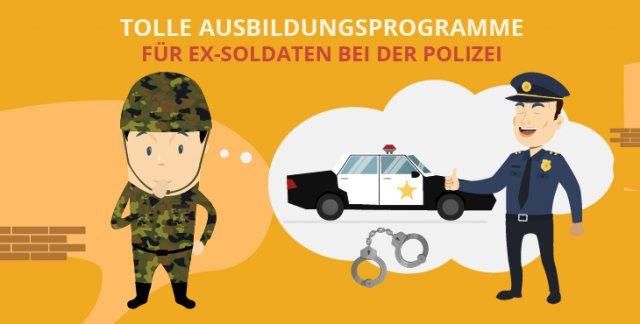 Tolle Option: Nach dem DZE zur Polizei wechseln!