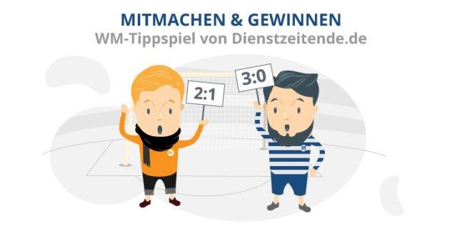 Das große WM-Tippspiel von Dienstzeitende.de