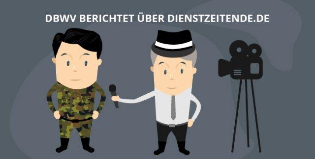 Bundeswehrverband berichtet über Dienstzeitende.de