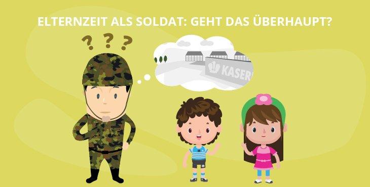 Elternzeit als Soldat: Geht das überhaupt?