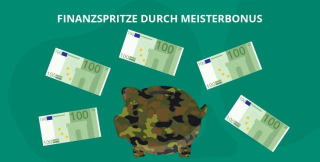 Finanzspritze auch für Soldaten: Meisterbonus in Bayern