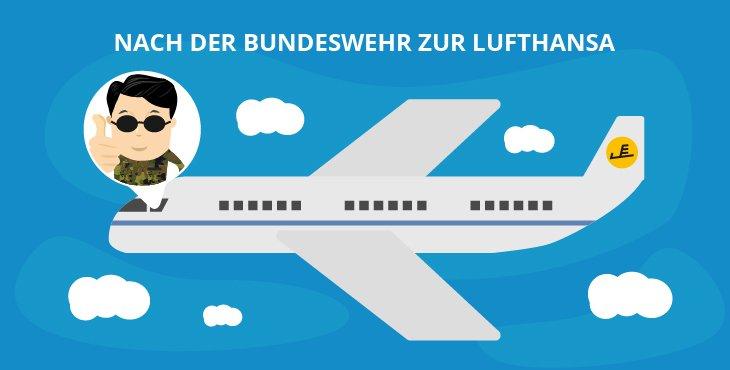 Nach der Bundeswehr zur Lufthansa
