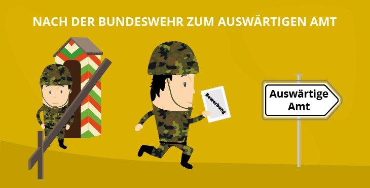 Nach der Bundeswehr zum Auswärtigen Amt