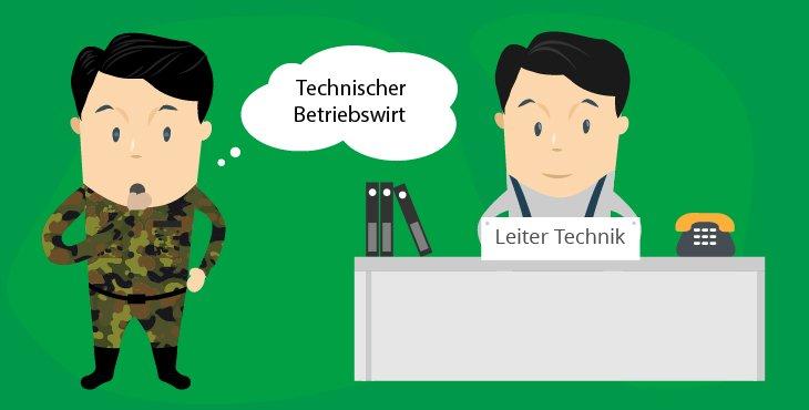 Nach der Bundeswehr Technischer Betriebswirt werden