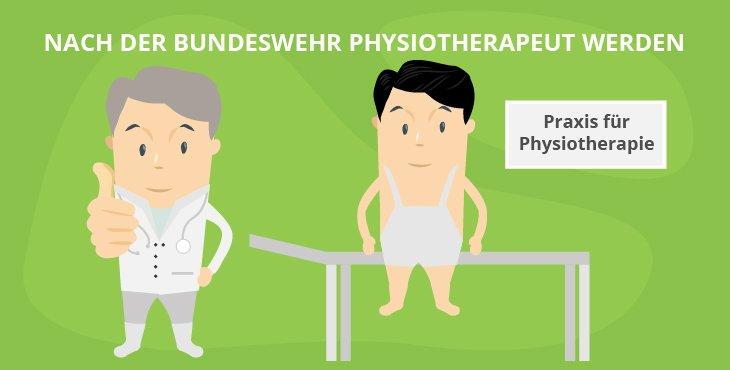Nach der Bundeswehr Physiotherapeut werden