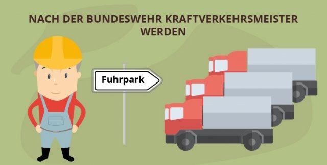 Nach der Bundeswehr Kraftverkehrsmeister werden