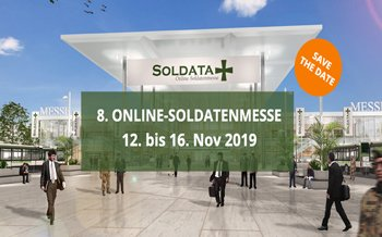 Es ist wieder soweit: Die SOLDATA öffnet ihre Türen
