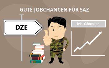 Gute Jobchancen für Zeitsoldaten auch nach dem DZE