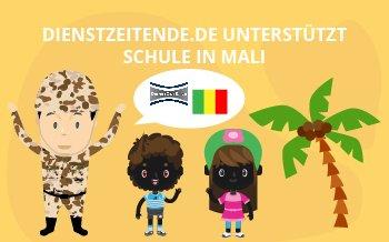 Dienstzeitende.de unterstützt Schule in Mali