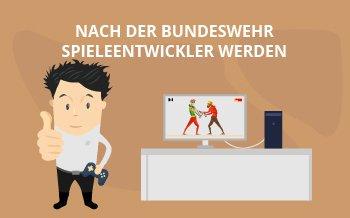 Nach der Bundeswehr Spieleentwickler werden