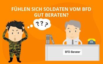 Fühlen sich Soldaten vom BFD gut beraten?