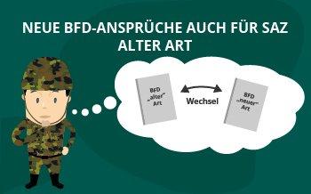 Neue BFD-Ansprüche auch für SaZ alter Art
